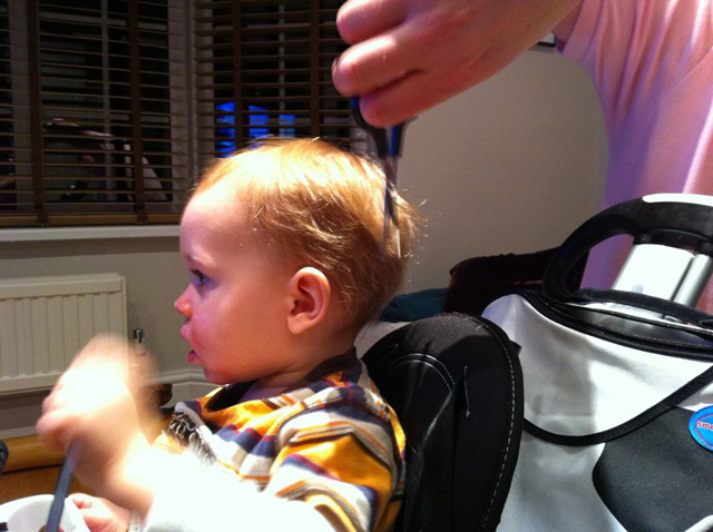 First Haircut