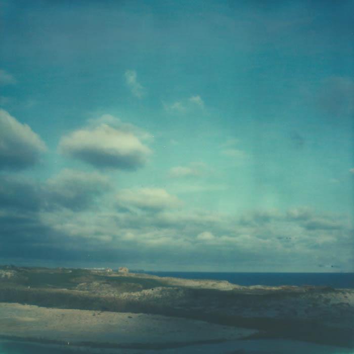 Polaroid Praia Del Rei Portugal
