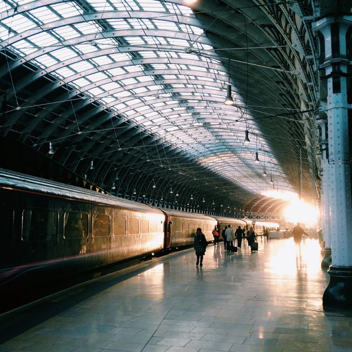 Morning Light at Paddington Station