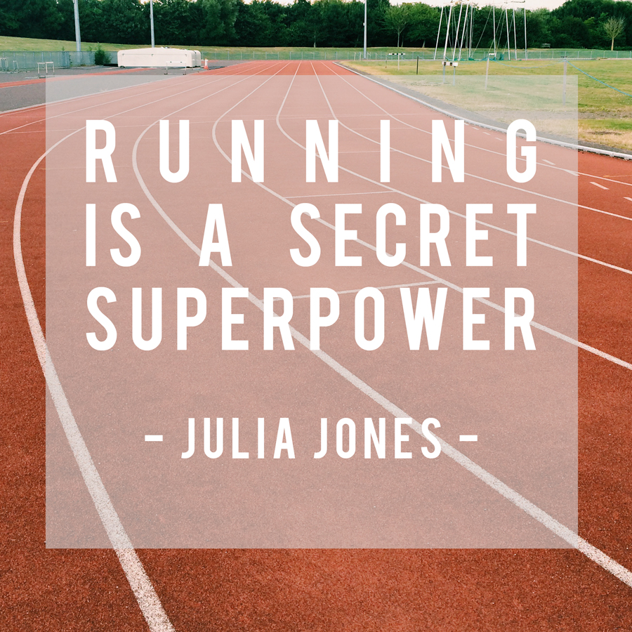 Running is a Secret Superpower