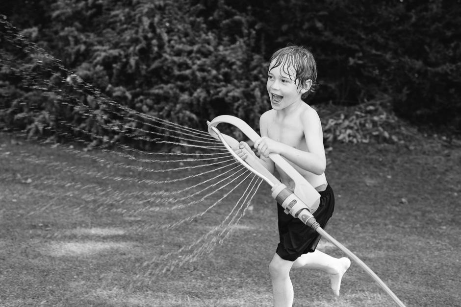 Summer Sprinkler Fun